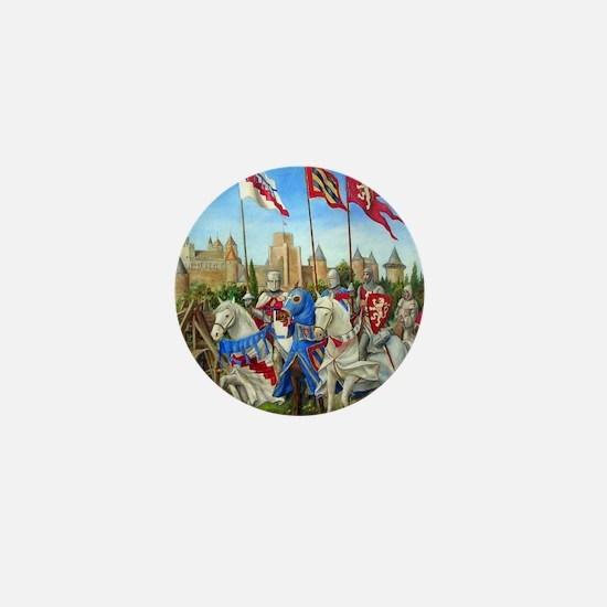 Siege of Carcassonne Mini Button
