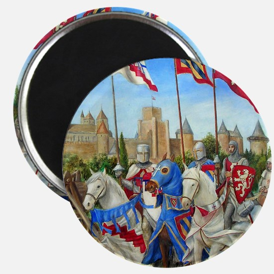 Siege of Carcassonne Magnet