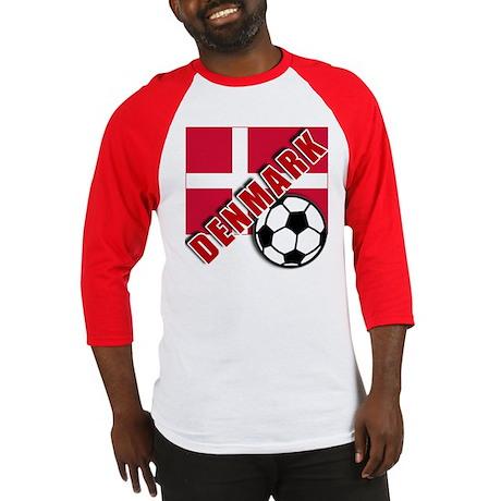 World Soccer Denmark Baseball Jersey