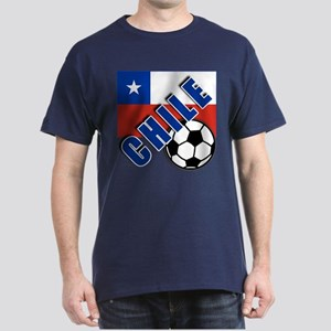World Soccer CHILE Dark T-Shirt