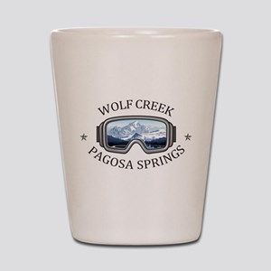 Wolf Creek Ski Area - Pagosa Springs Shot Glass