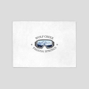 Wolf Creek Ski Area - Pagosa Spri 5'x7'Area Rug