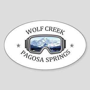 Wolf Creek Ski Area - Pagosa Springs - C Sticker