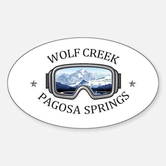 Wolf Creek Ski Area - Pagosa Springs - C Decal