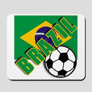 World Soccer BRAZIL Mousepad