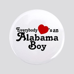 "Everybody Hearts an Alabama B 3.5"" Button"