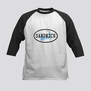 Sandwich Kids Baseball Jersey