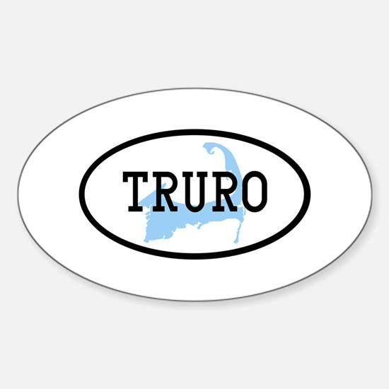 Truro Sticker (Oval)
