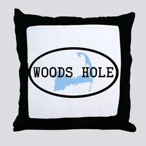 Woods Hole Throw Pillow