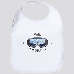 Vail Ski Resort - Vail - Colorado Baby Bib