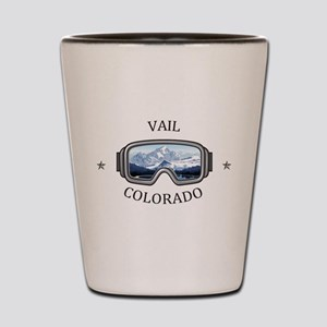 Vail Ski Resort - Vail - Colorado Shot Glass