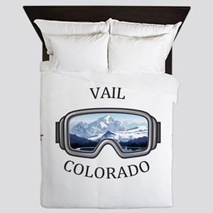 Vail Ski Resort - Vail - Colorado Queen Duvet