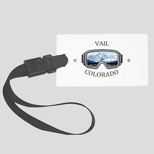 Vail Ski Resort - Vail - Color Large Luggage Tag