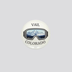 Vail Ski Resort - Vail - Colorado Mini Button