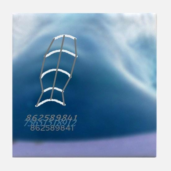 Serial Tile Coaster