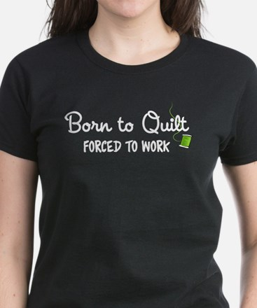 Forced to Work Women's Dark T-Shirt