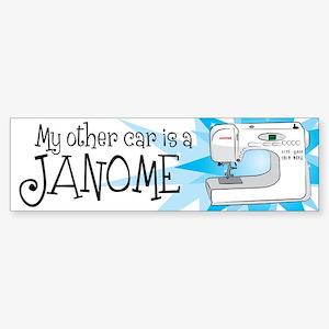 MyOtherCarisAJanome Bumper Sticker