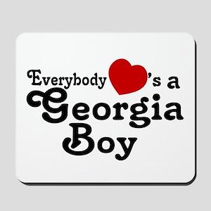 Everybody Hearts a Georgia Bo Mousepad