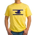 Dont Tread on Me! Hebrew Yellow T-Shirt