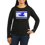 Dont Tread on Me! Hebrew Women's Long Sleeve Dark