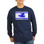 Dont Tread on Me! Hebrew Long Sleeve Dark T-Shirt