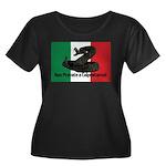 Don't Tread on Me! in Italian Women's Plus Size Sc