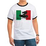Don't Tread on Me! in Italian Ringer T