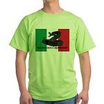 Don't Tread on Me! in Italian Green T-Shirt