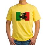 Don't Tread on Me! in Italian Yellow T-Shirt