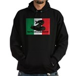 Don't Tread on Me! in Italian Hoodie (dark)