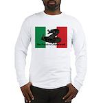 Don't Tread on Me! in Italian Long Sleeve T-Shirt