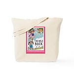 Pink Framed Tote Bag