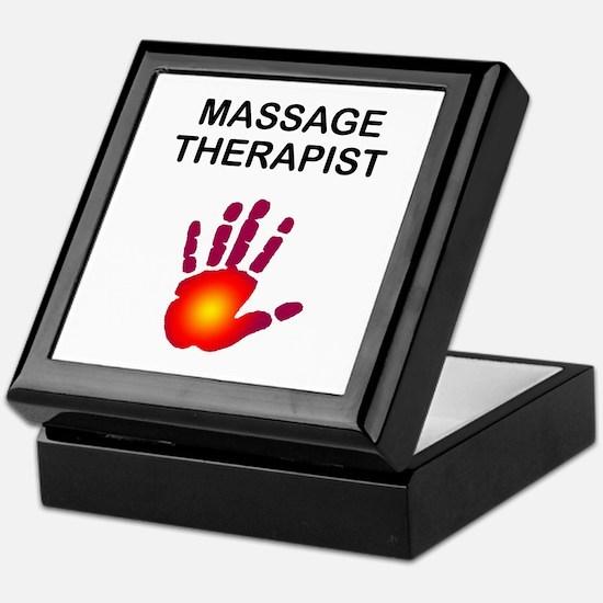 Massage Therapist Keepsake Box
