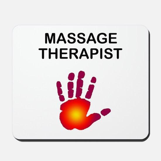 Massage Therapist Mousepad