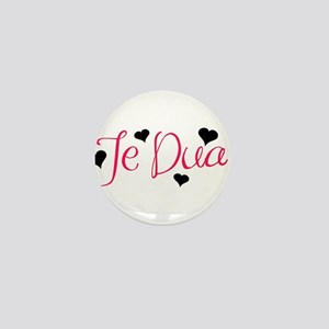 Te Dua Mini Button (10 pack)