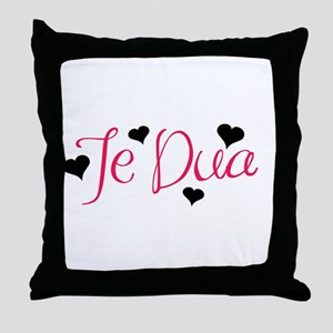Te Dua Throw Pillow