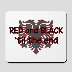 Red & Black Mousepad