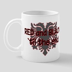 Red & Black Mug