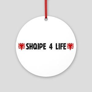 Shqipe 4 Life Ornament (Round)