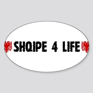 Shqipe 4 Life Sticker (Oval)