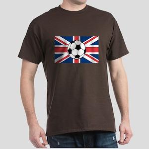 UK Soccer Flag Dark T-Shirt