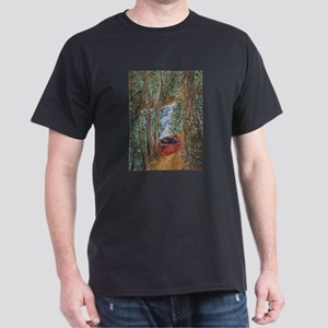 Art Black T-Shirt