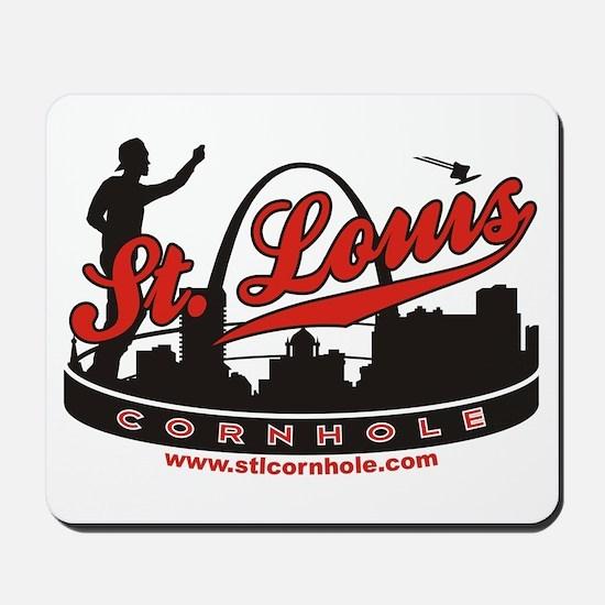 St. Louis Cornhole Mousepad