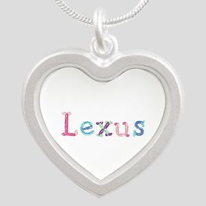 Lexus Princess Balloons Silver Heart Necklace
