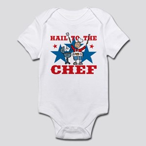 Hail To The BBQ Chef Infant Bodysuit