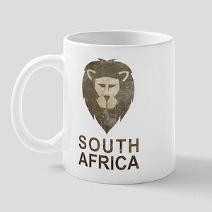 Vintage South Africa Mug