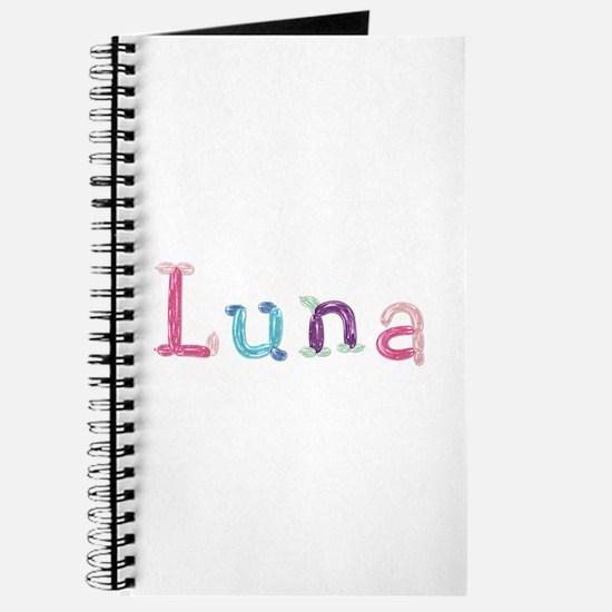 Luna Princess Balloons Journal