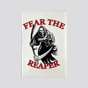 Fear The Reaper Rectangle Magnet