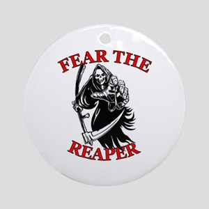 Fear The Reaper Ornament (Round)