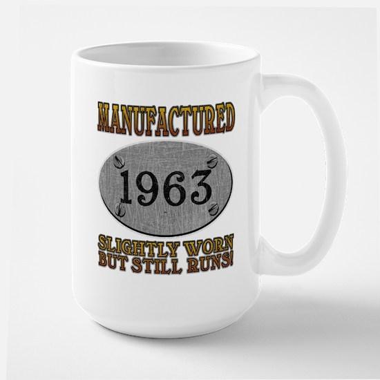 Manufactured 1963 Large Mug